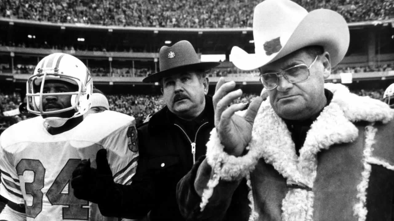 18. You get a little teary-eyed when people talk about Bum Phillips 1979 Kick in the Door speech.