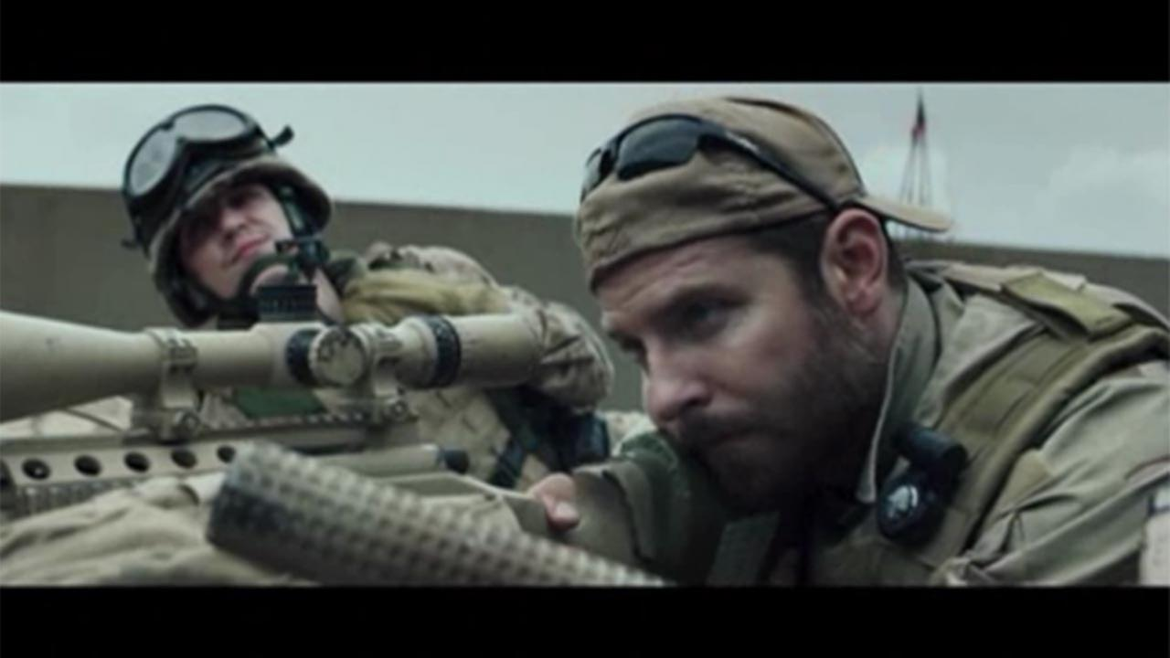 The war drama starring Bradley Cooper is a true-life film that tells the story of Texas war hero, Chris Kyle.