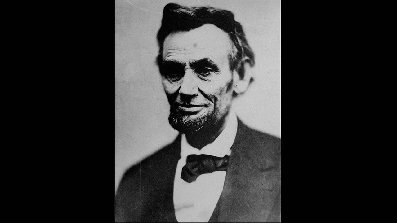 The last photograph taken of Abraham Lincoln during his lifetime. It was taken by Alexander Gardner in Washington on April 10, 1865