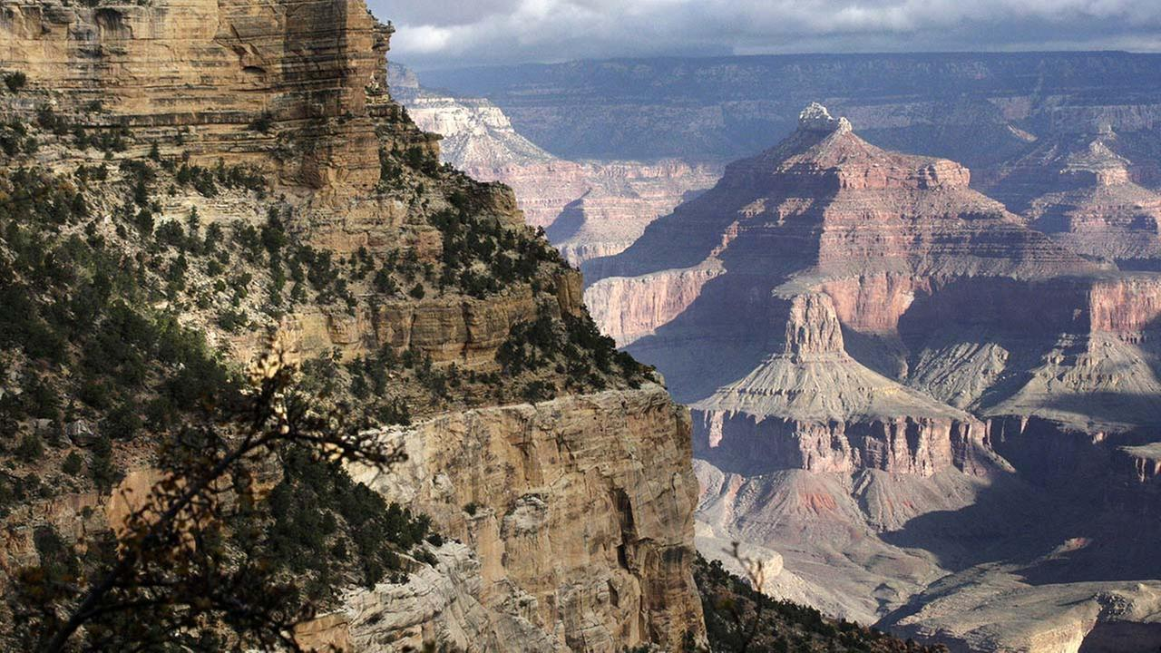 This Oct. 22, 2012 file photo shows a view from the South Rim of the Grand Canyon National Park in Arizona