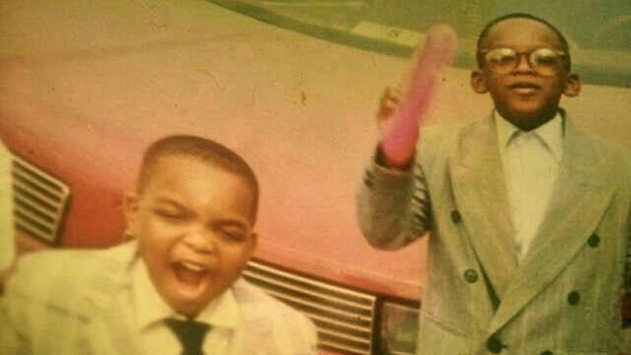 Throwback Thursdays: Tracy Clemons with his cousin