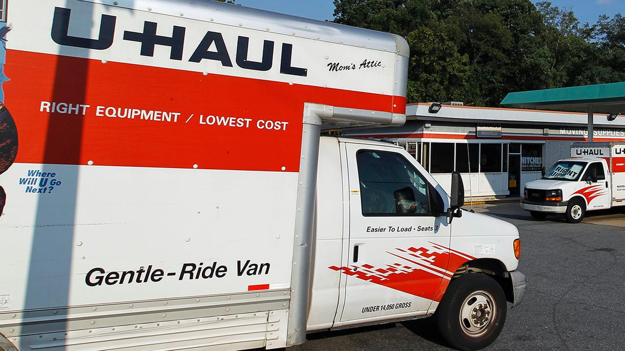 A U-Haul lot in Temple Hills, MD, Saturday, Sept. 10, 2011