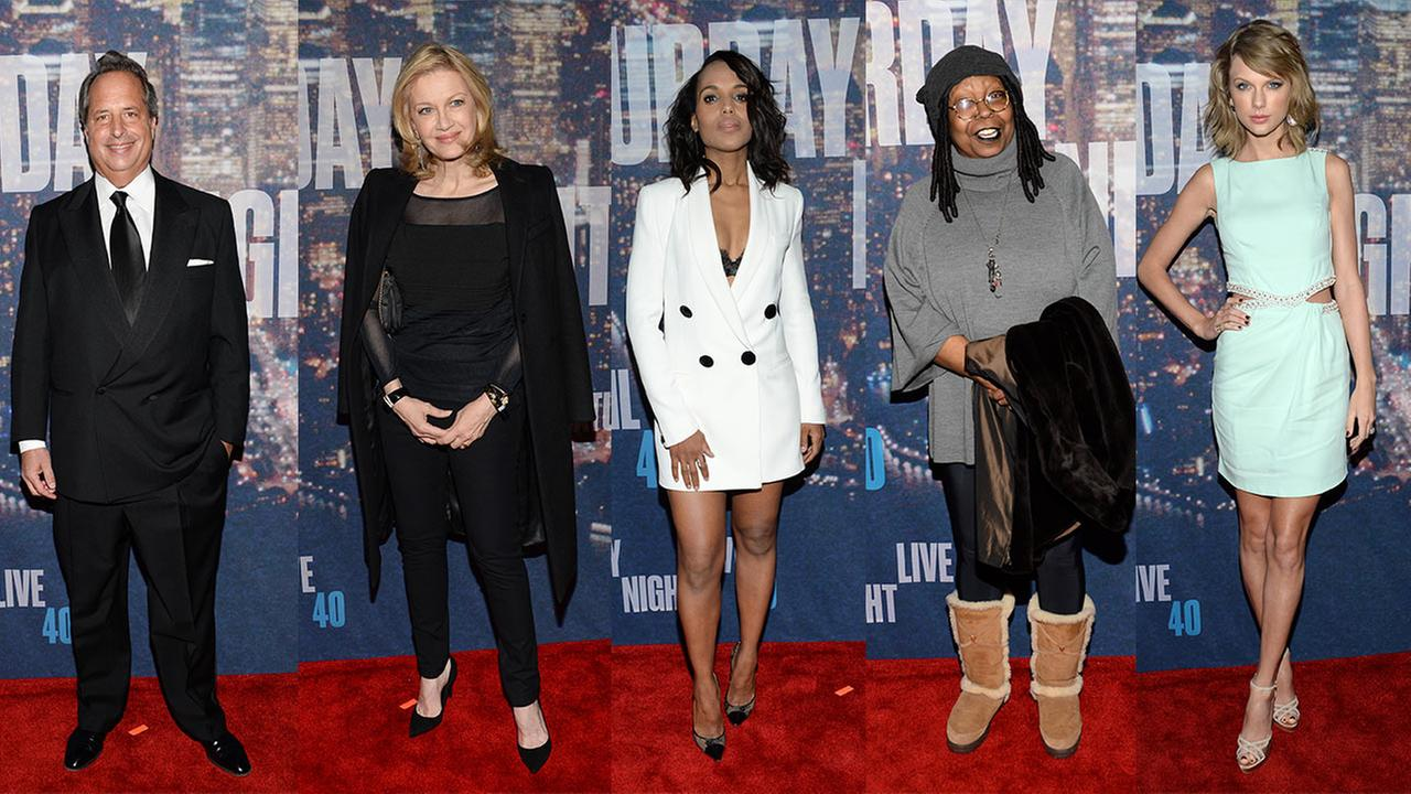 Kerry Washington, Whoopi Goldberg, Diane Sawyer and Taylor Swift