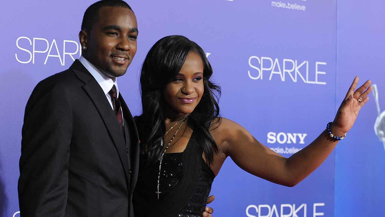 Bobbi Kristina Brown, right, and Nick Gordon attend the Los Angeles premiere of Sparkle at Graumans Chinese Theatre on Thursday, Aug. 16, 2012, in Los Angeles.