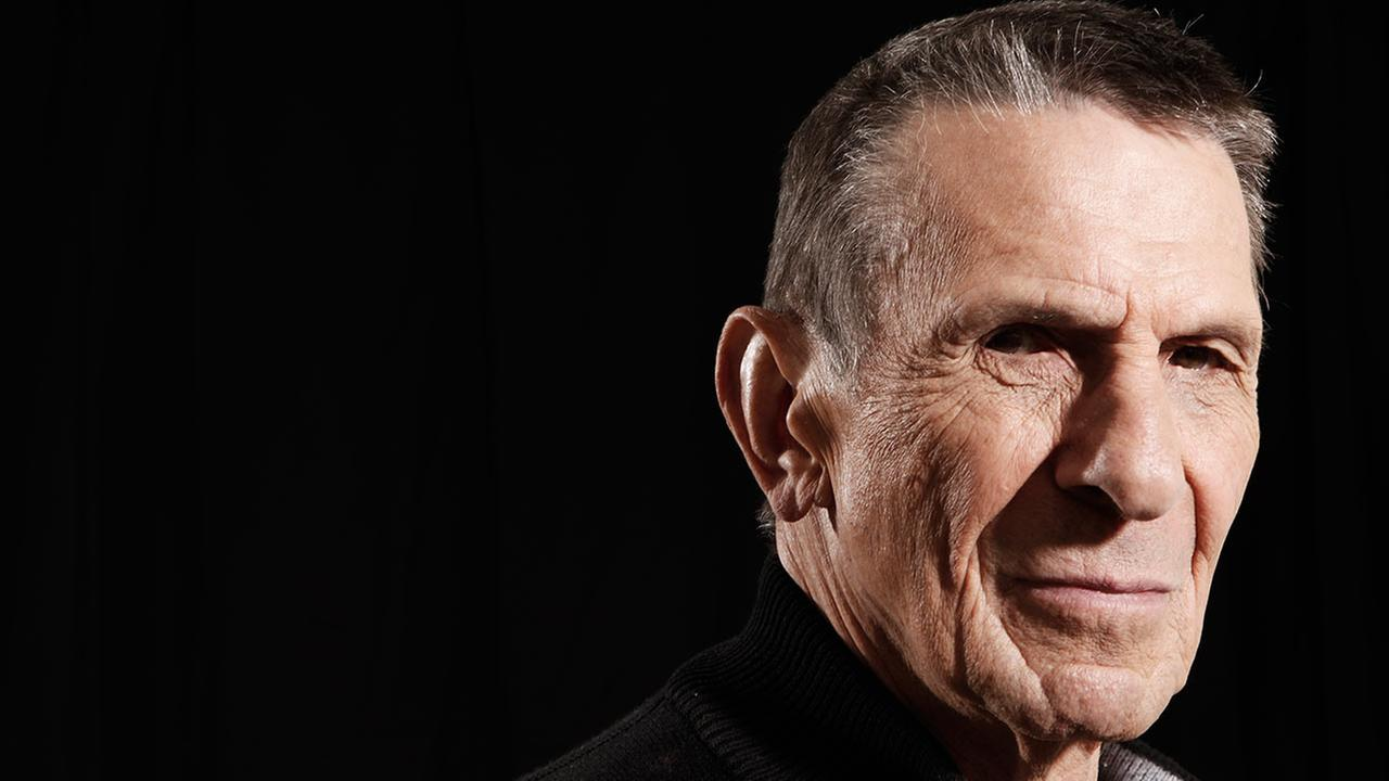 Actor Leonard Nimoy poses for a portrait in Beverly Hills, Calif. on Sunday, April 26, 2009. AP Photo/Matt Sayles
