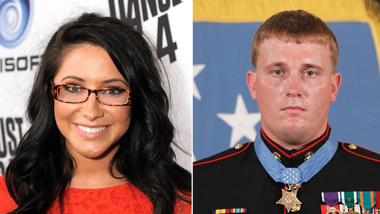 Bristol Palin and Marine Corps Cpl. Dakota Meyer