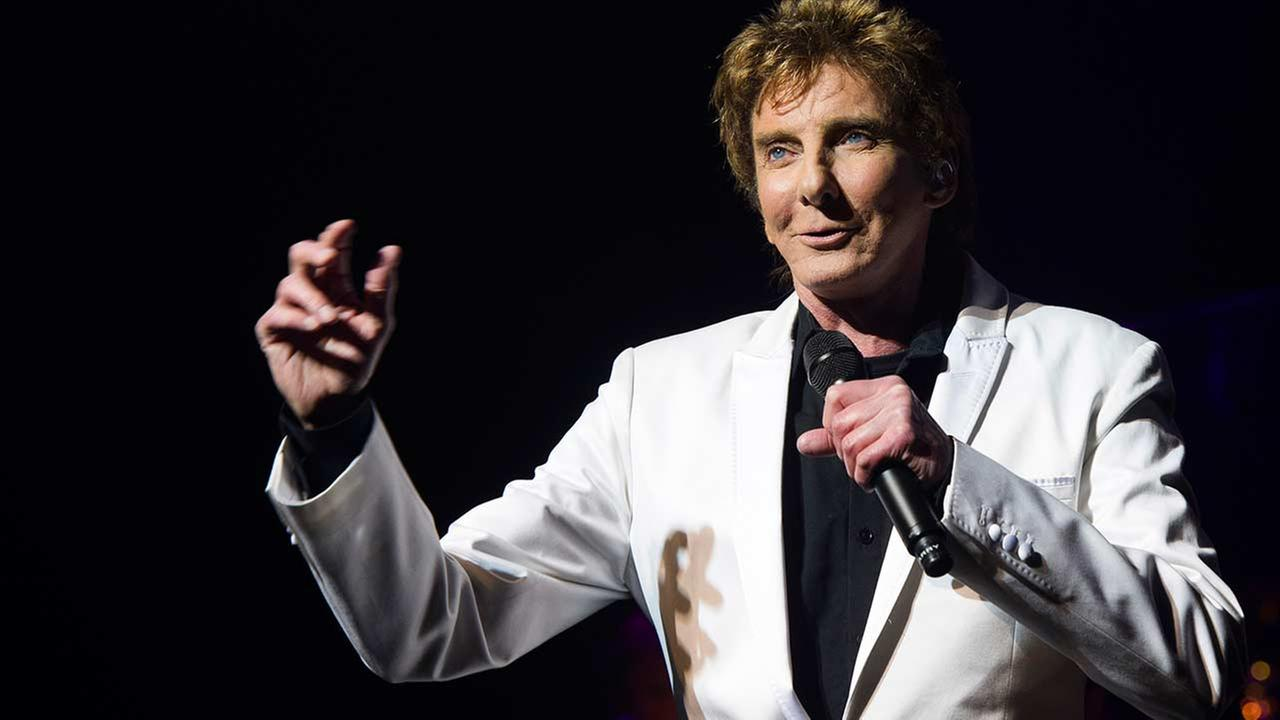 Barry Manilow performs at his show Manilow on Broadway on Tuesday, Jan. 29, 2013 in New York.