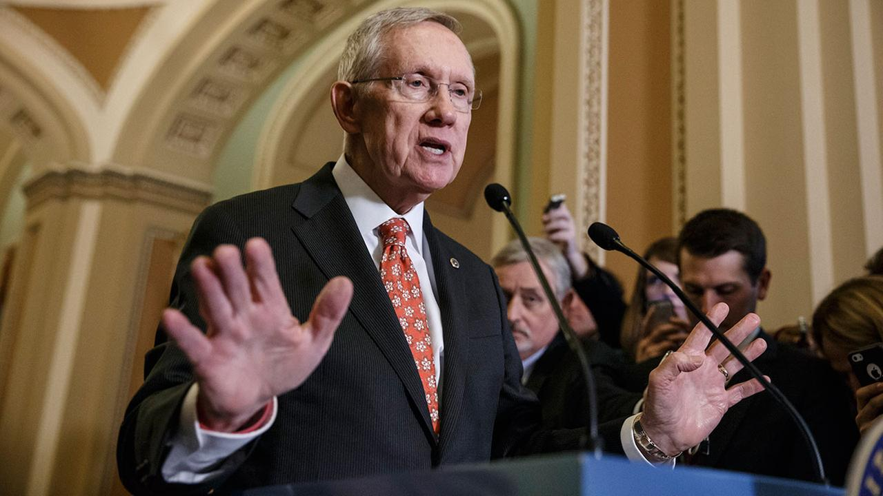 Senate Majority Leader Harry Reid, D-Nev