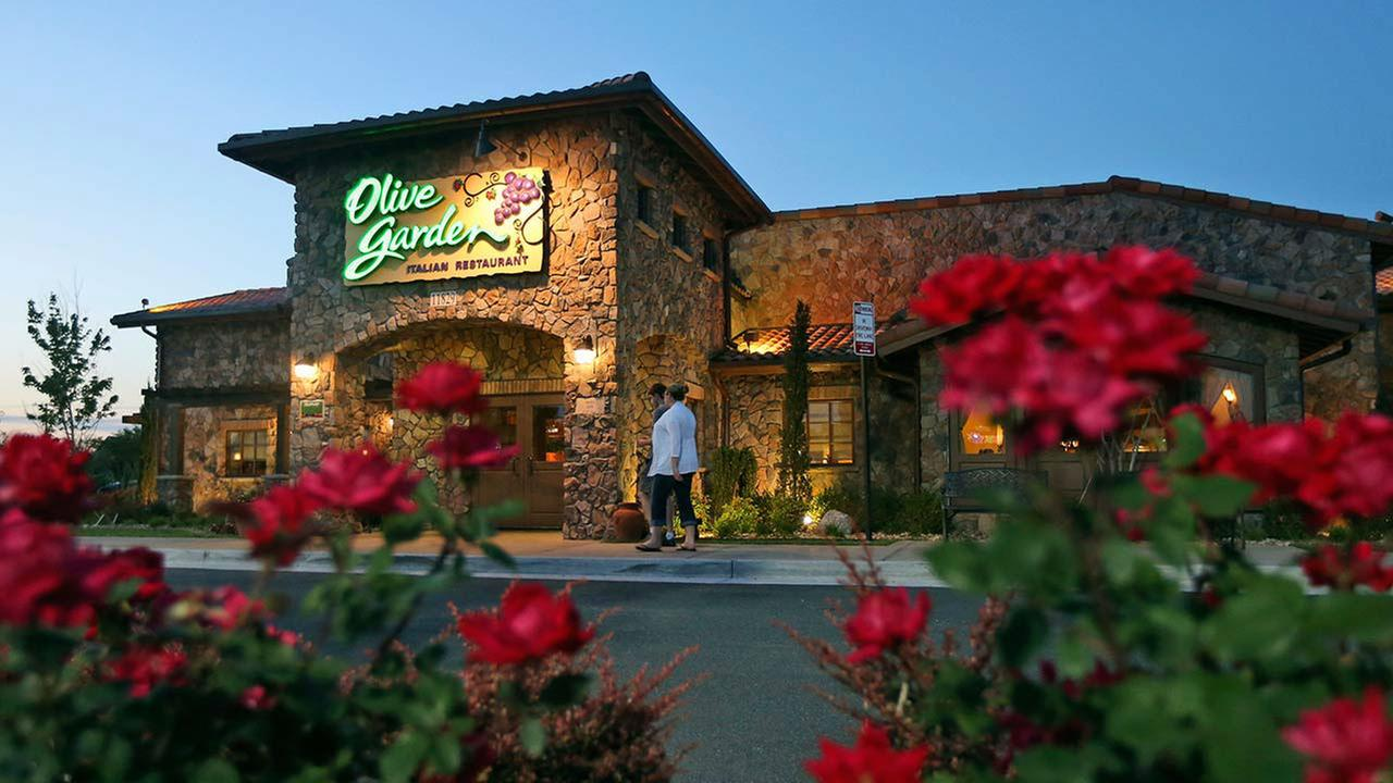 Olive Garden BreadsticksAP Photo/Steve Helber