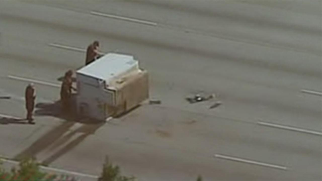 Katy Freeway shut down