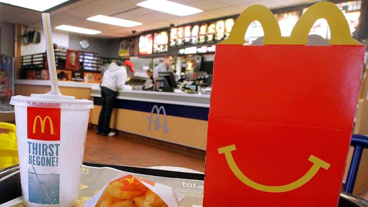 A McDonalds Happy Meal