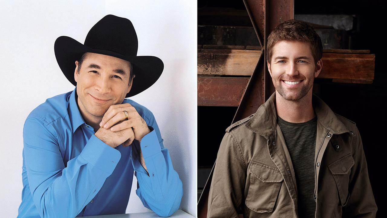 Josh Turner and Clint Black