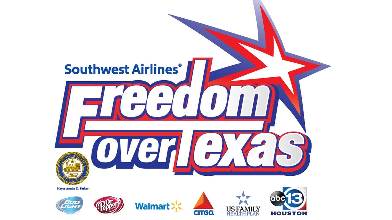 July 4th Southwest Airlines Freedom Over Texas