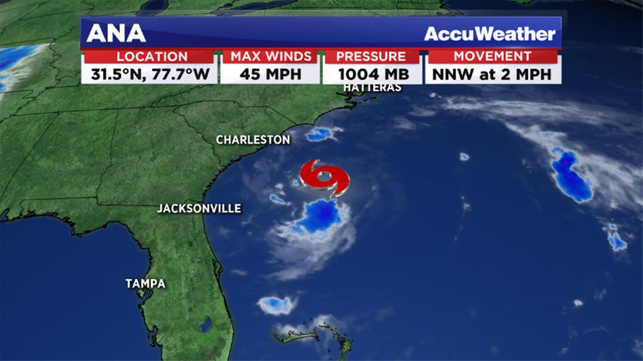 Tropical storm Ana