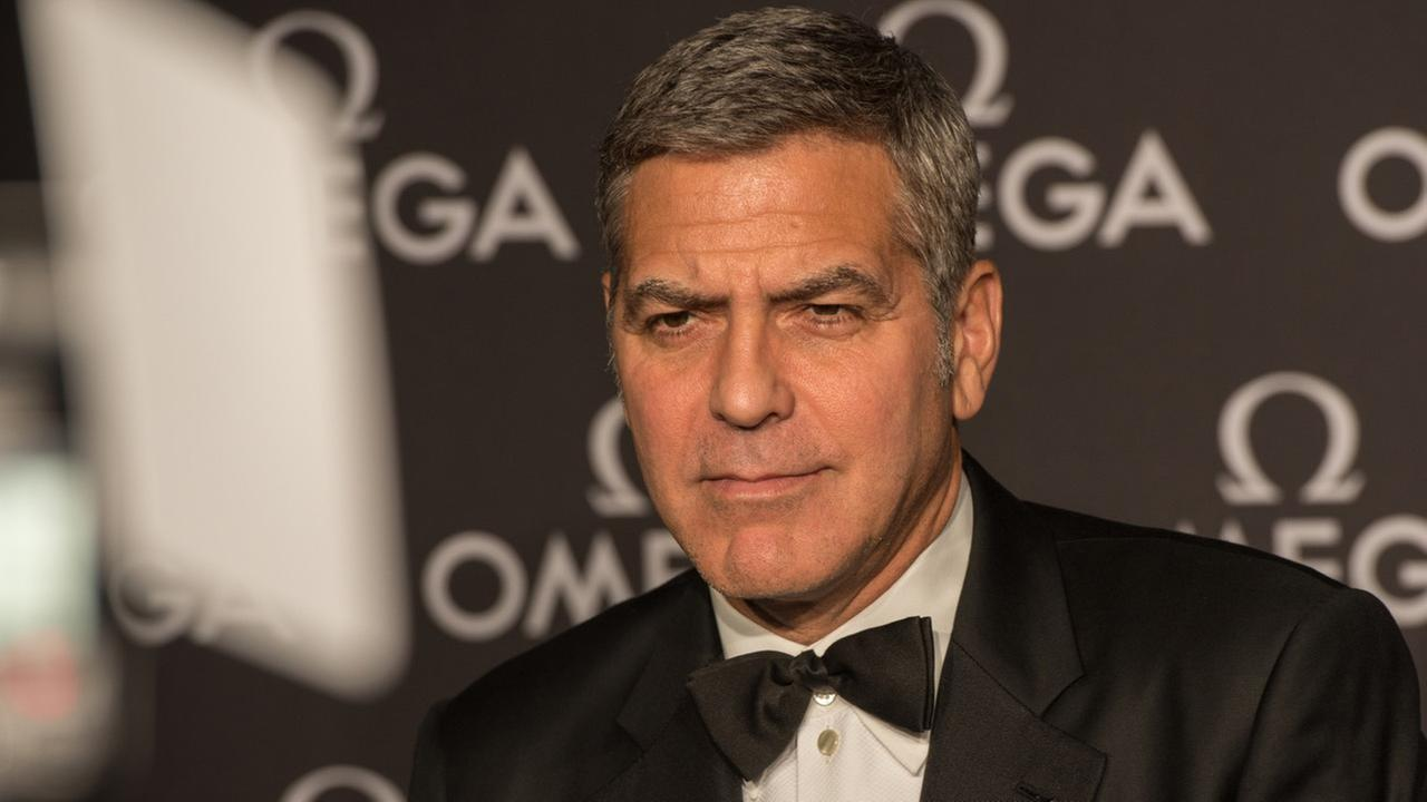 George Clooney reportedly injured after motorbike crash in Sardinia