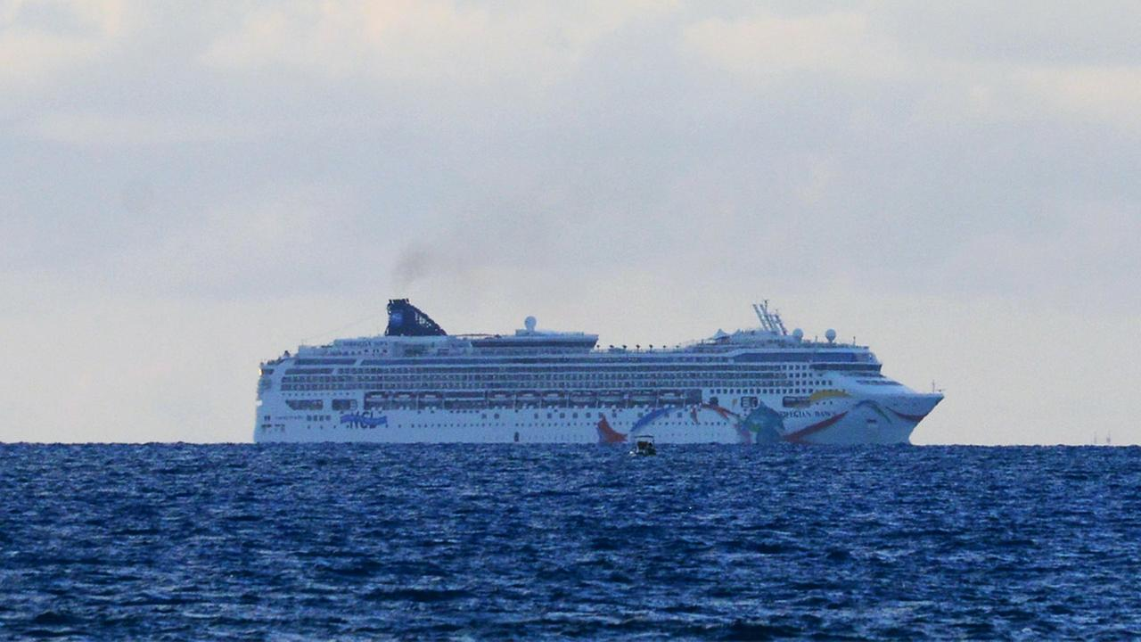 The Norwegian cruise ship Norwegian Dawn