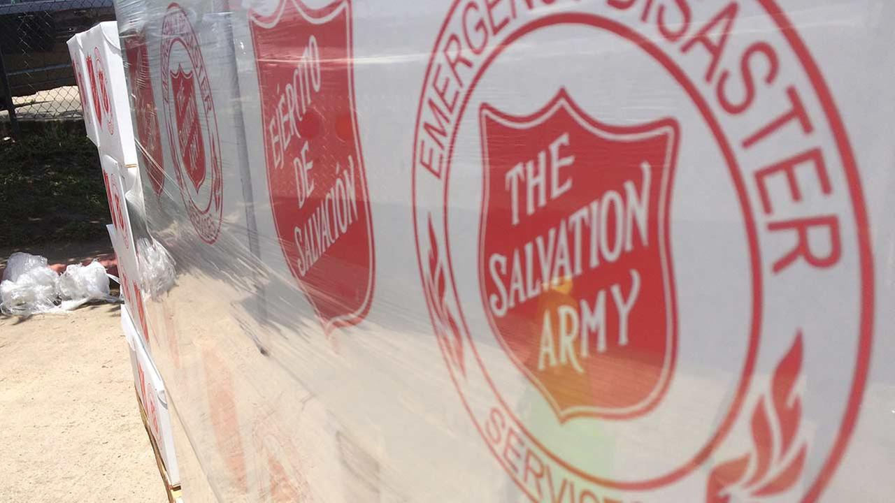 The Salvation Army is getting ready and packed to help those affected by the storms.