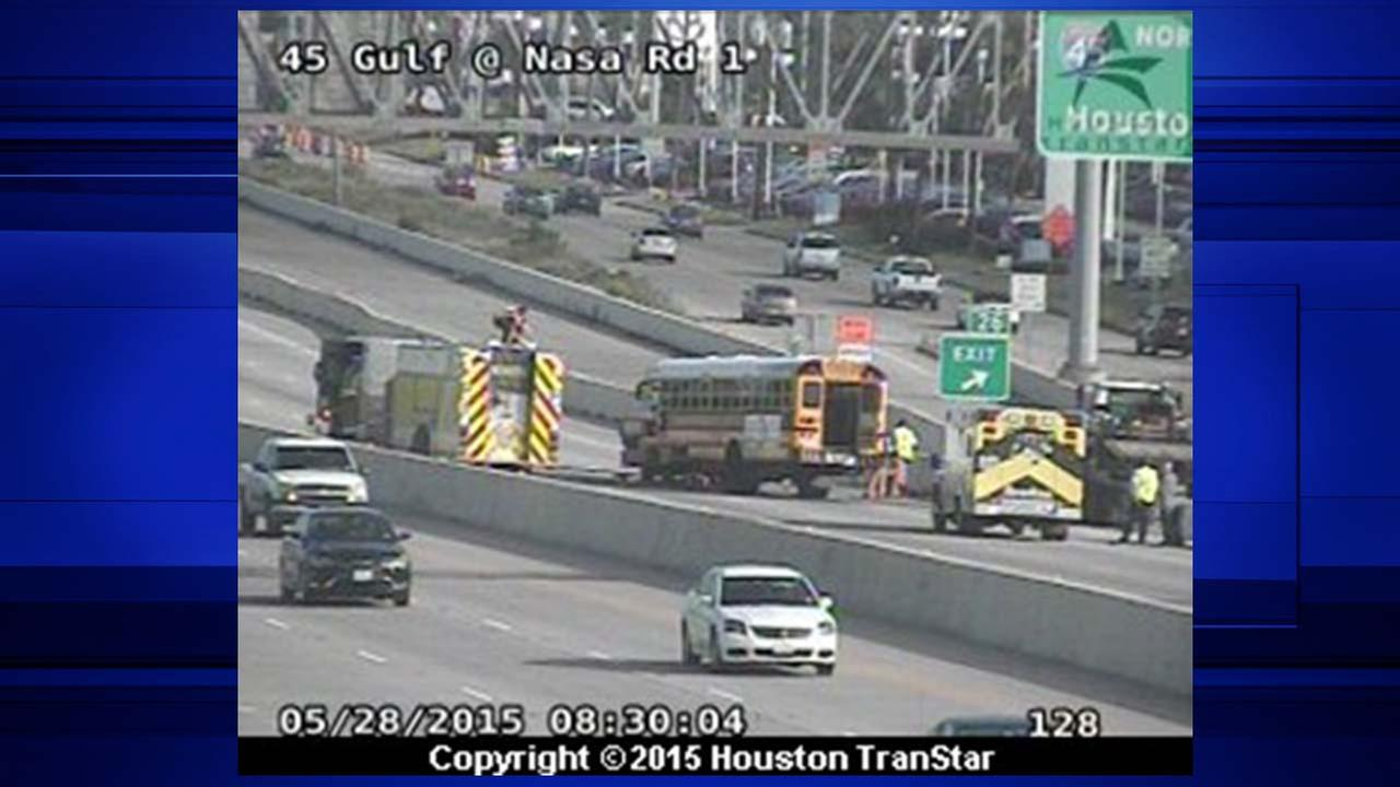 Bus accident, Houston TranStar