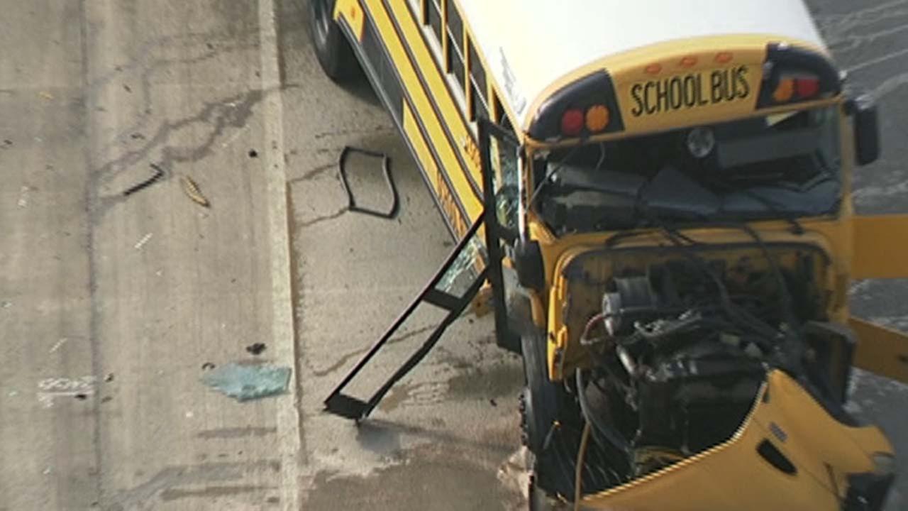 Bus crash,bus accident