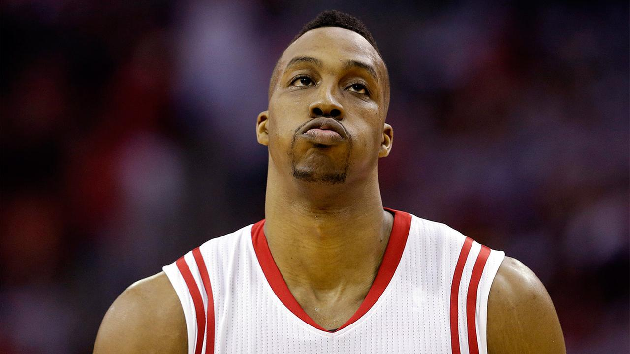 Houston Rockets center Dwight Howard