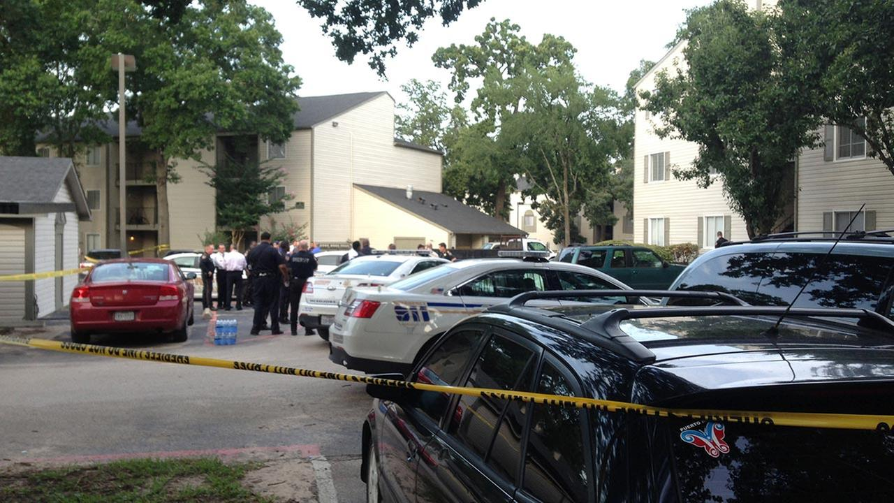An investigation is underway after a deputy opened fire on a man in northwest Harris County.