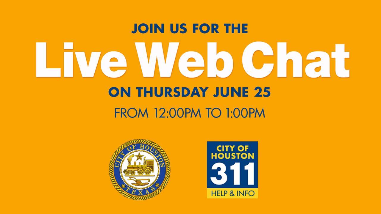 311 Live Web Chat