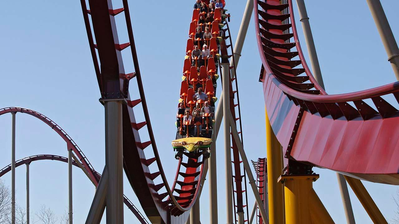 Diamondback roller coaster