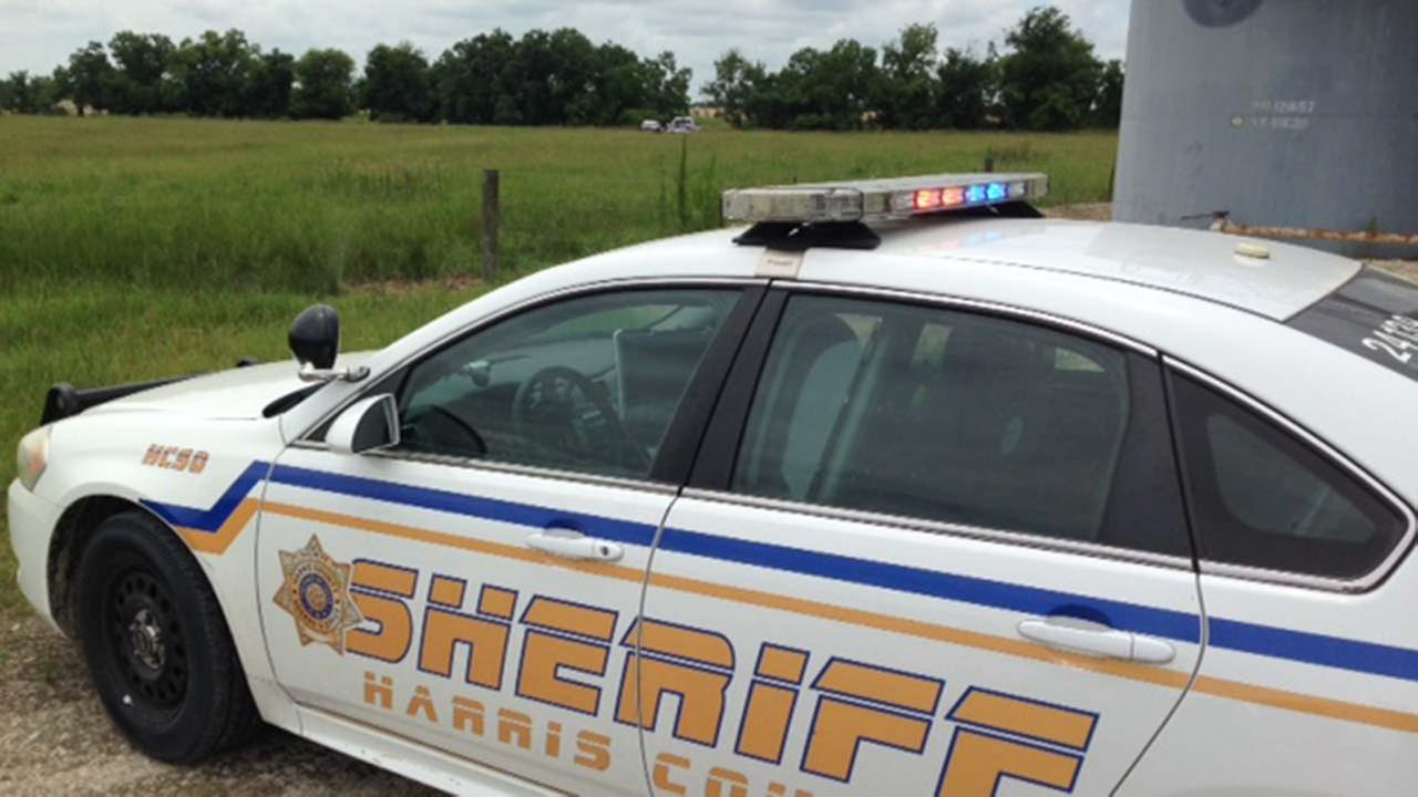Harris County authorities are on the scene of a deadly glider crash