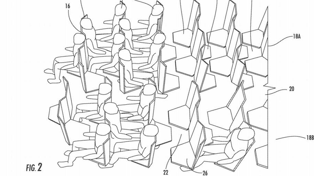 Airline seats patent