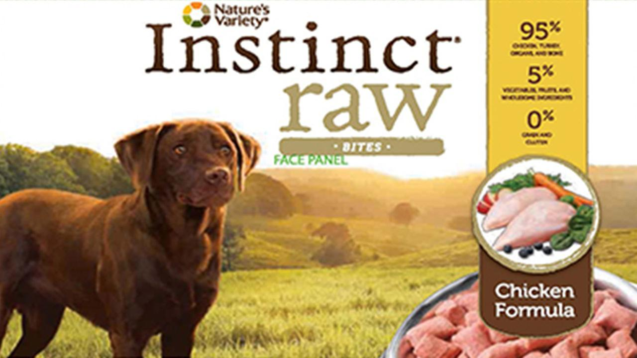 Recalled dog food
