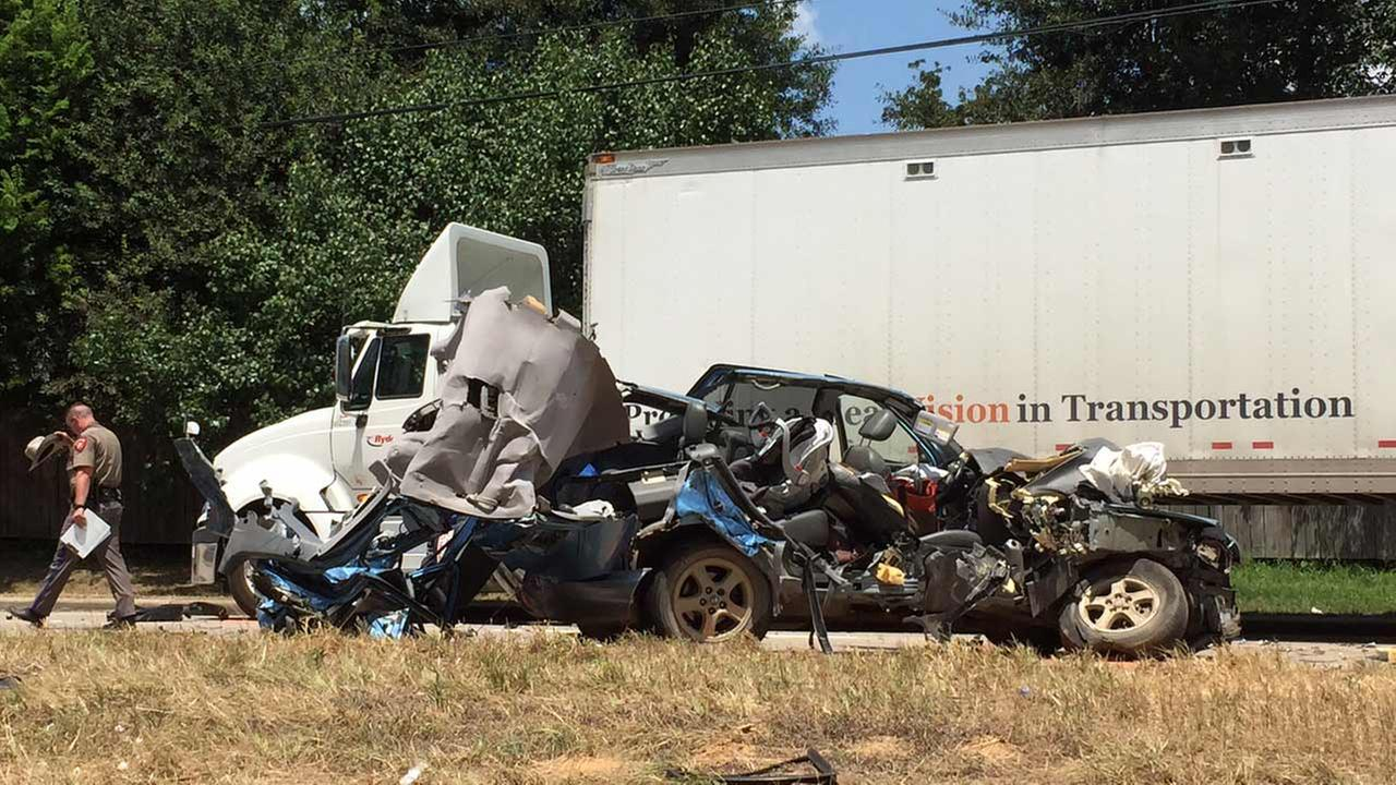 Authorities are investigating a fatal accident on Highway 249.