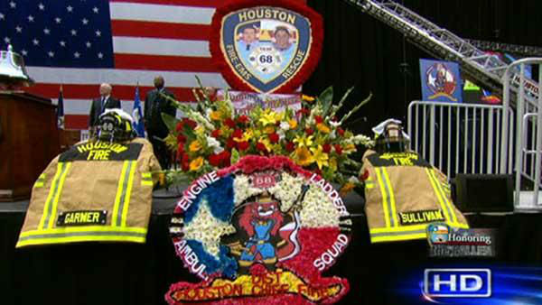 Four firefighters lost their lives battling a massive motel fire in SW Houston on May 31, 2013. <span class=meta>KTRK Photo</span>