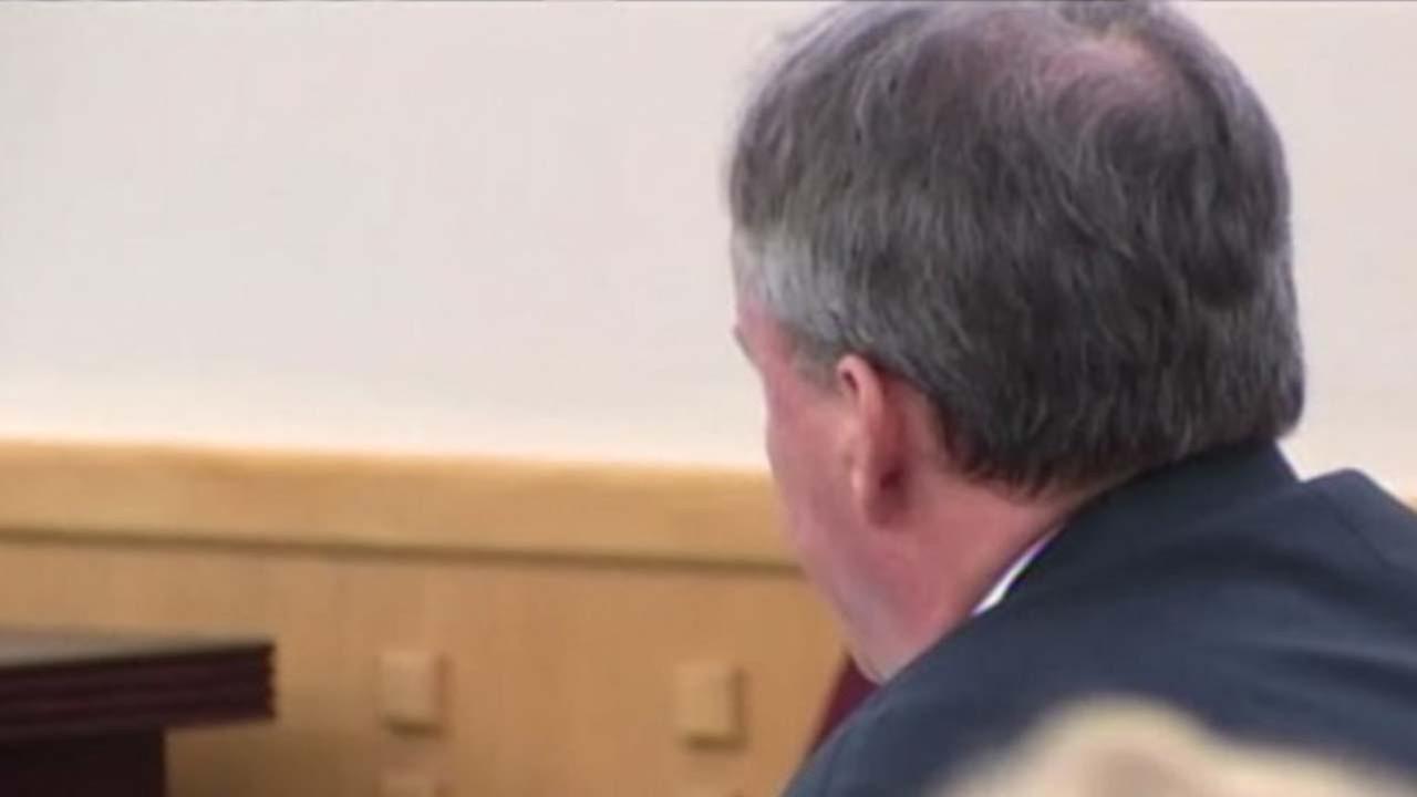 Texas Attorney General Ken Paxton in court, August 27, 2014.