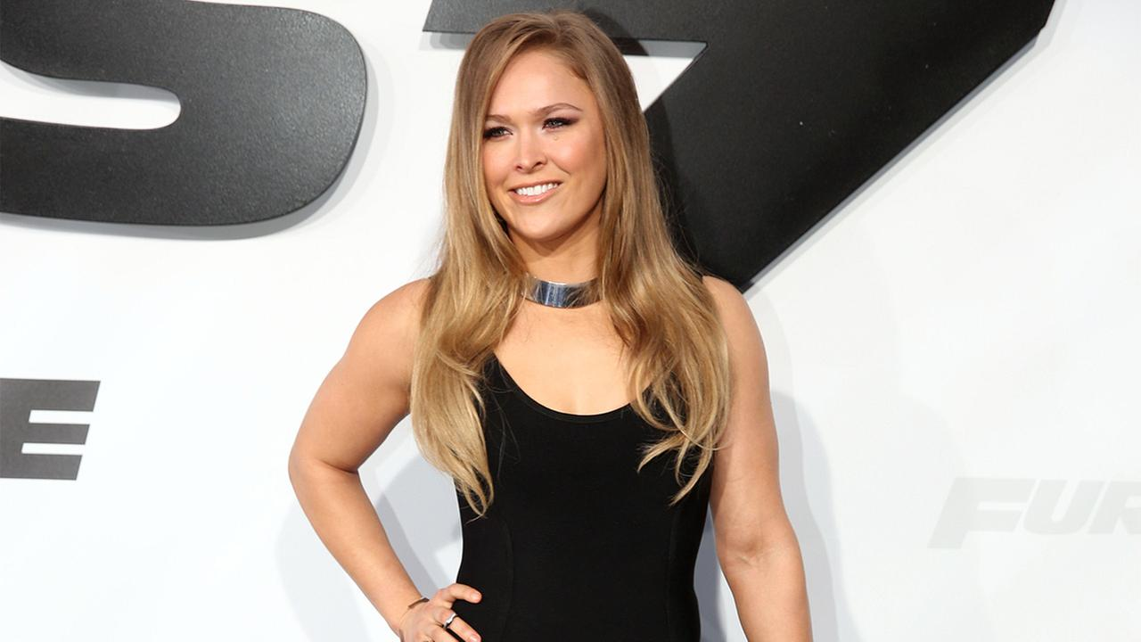 Invitation accepted: Ronda Rousey Marine Ball