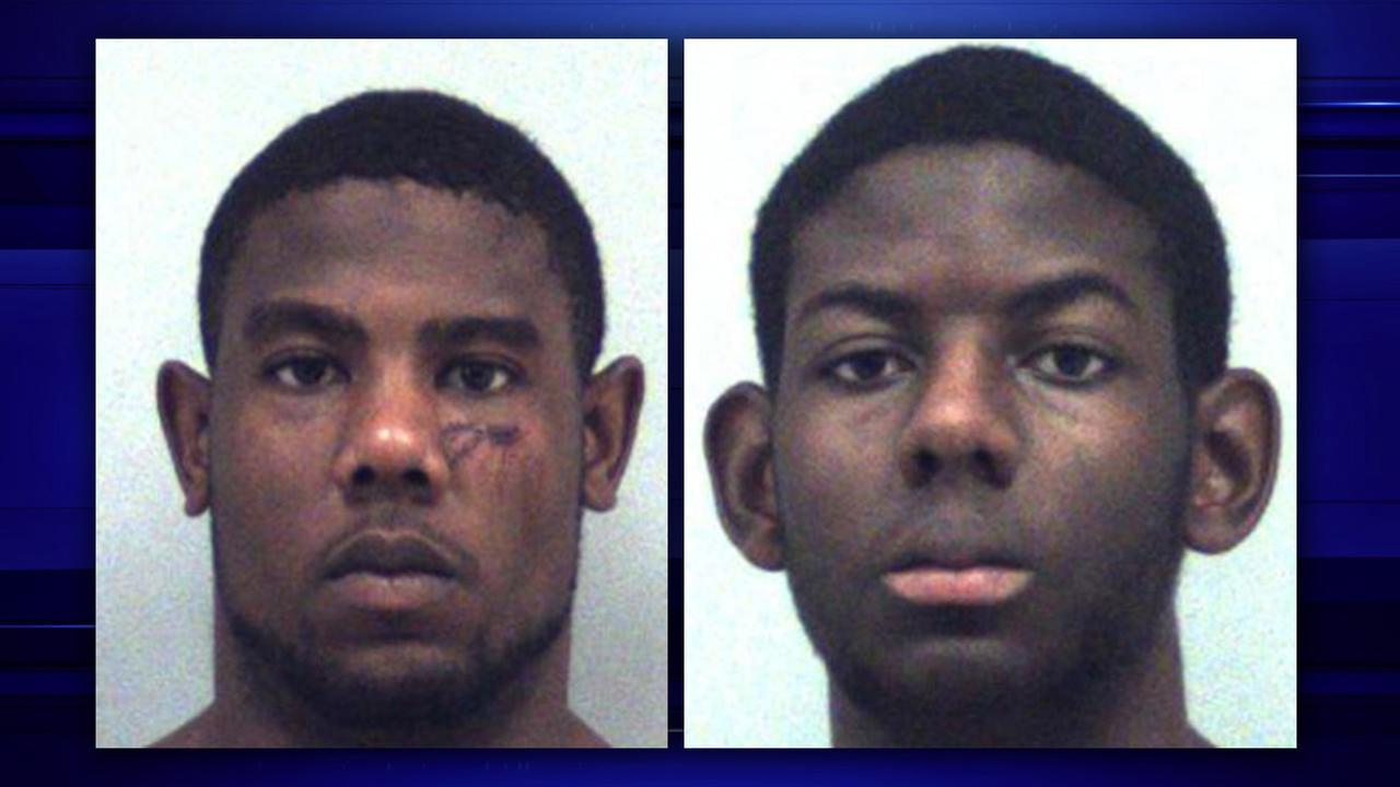 Christopher Ervin, 22, and Cameron Ervin, 17