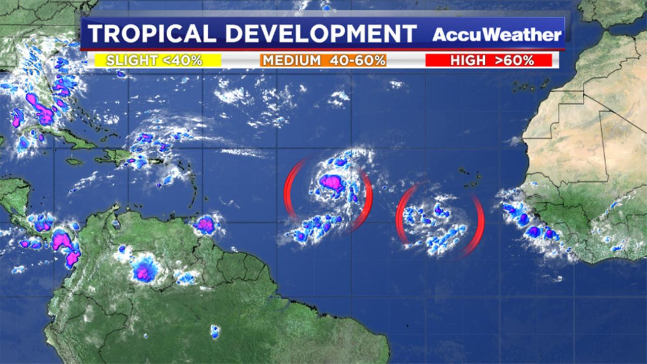 Two tropical depressions could form in the next two days