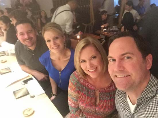 "<div class=""meta image-caption""><div class=""origin-logo origin-image none""><span>none</span></div><span class=""caption-text"">Casey Curry with her husband, brother and sister-in-law</span></div>"