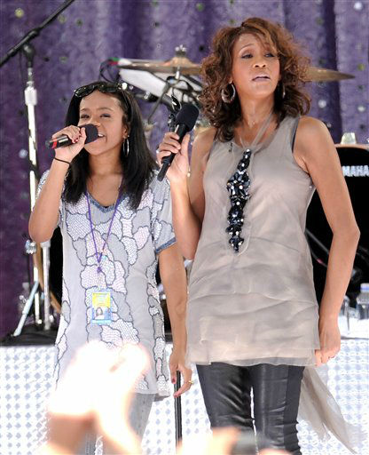"<div class=""meta image-caption""><div class=""origin-logo origin-image none""><span>none</span></div><span class=""caption-text"">Whitney Houston and Bobbi Kristina Brown in 2009 at the GMA  summer concert series. (Photo/AP photo)</span></div>"