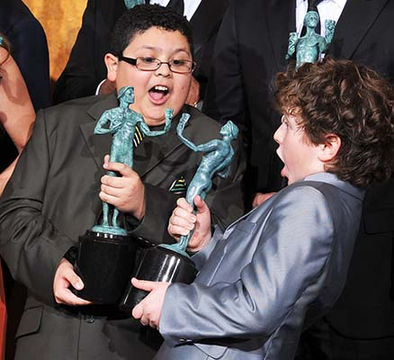 <div class='meta'><div class='origin-logo' data-origin='AP'></div><span class='caption-text' data-credit='AP'>Rico Rodriguez, left and Nolan Gould on Sunday, Jan. 30, 2011 in Los Angeles. (AP Photo/Chris Pizzello)</span></div>