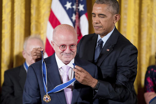 "<div class=""meta image-caption""><div class=""origin-logo origin-image ap""><span>AP</span></div><span class=""caption-text"">President Barack Obama presents the Presidential Medal of Freedom to Miami Dade College President Eduardo Padron Nov. 22, 2016, in Washington.  (AP Photo/Andrew Harnik) (AP)</span></div>"