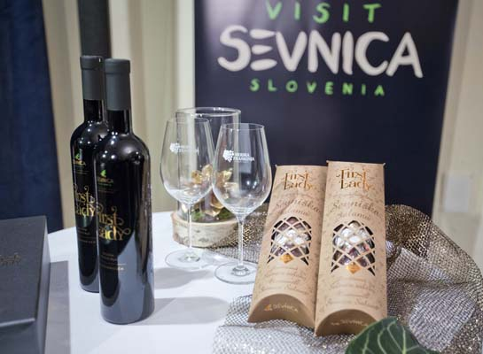 """<div class=""""meta image-caption""""><div class=""""origin-logo origin-image none""""><span>none</span></div><span class=""""caption-text"""">Bottles of local wine """"First Lady"""" and a of pair of locally produced """"First Lady"""" salami are displayed for visitors in Sevnica, Slovenia, Jan. 20, 2017.  (AP Photo/Darko Bandic) (AP)</span></div>"""