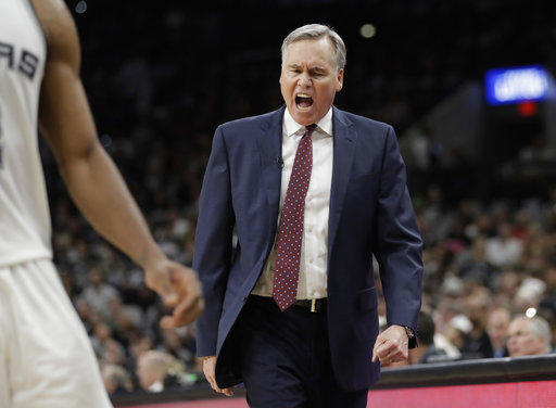 "<div class=""meta image-caption""><div class=""origin-logo origin-image ap""><span>AP</span></div><span class=""caption-text"">Houston Rockets head coach Mike D'Antoni reacts to a call during the second half, Monday, May 1, 2017 (AP Photo/Eric Gay) (AP)</span></div>"