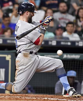 "<div class=""meta image-caption""><div class=""origin-logo origin-image ap""><span>AP</span></div><span class=""caption-text"">Boston Red Sox's Dustin Pedroia grounds out during the ninth inning of a baseball game against the Houston Astros(AP Photo/Eric Christian Smith) (AP)</span></div>"