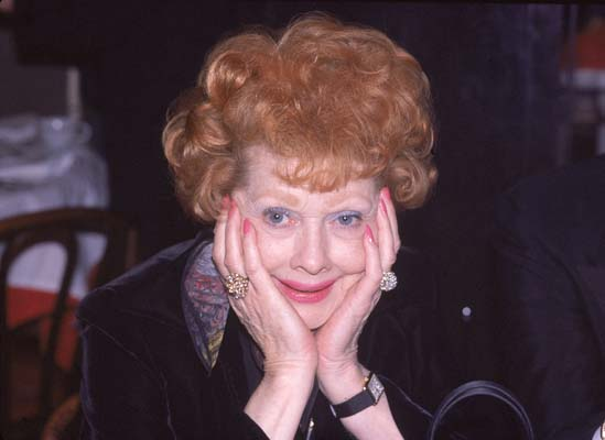 <div class='meta'><div class='origin-logo' data-origin='none'></div><span class='caption-text' data-credit='ASSOCIATED PRESS'>Actress-comedian Lucille Ball is shown in a restaurant in New York City on Feb. 11, 1979.  (AP Photo)</span></div>