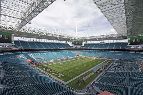 "<div class=""meta image-caption""><div class=""origin-logo origin-image ap""><span>AP</span></div><span class=""caption-text"">A view of Hard Rock Stadium before an NCAA football game between Florida Atlantic and Miami, in Miami Gardens, Fla. (AP Photo/Alan Diaz) (AP)</span></div>"