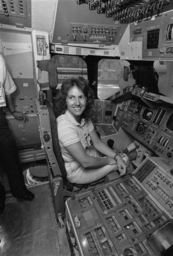 <div class='meta'><div class='origin-logo' data-origin='none'></div><span class='caption-text' data-credit='AP Photo/ RC'>Teacher Christa McAuliffe preparing for the mission</span></div>