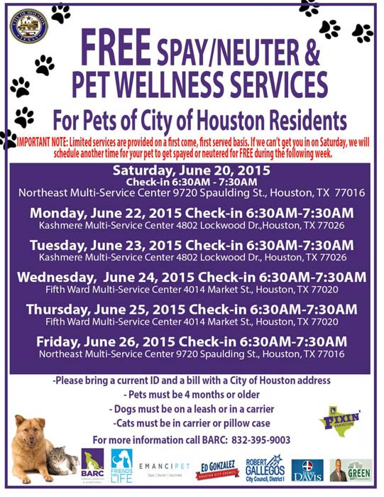 Free Spay Clinics For Dogs Near Me