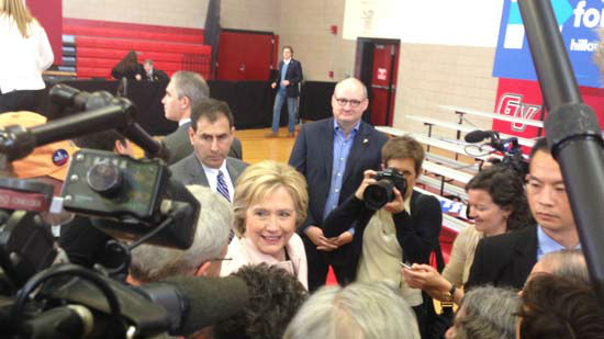 <div class='meta'><div class='origin-logo' data-origin='none'></div><span class='caption-text' data-credit=''>Hillary Clinton holds several campaign events leading up to the Iowa caucuses</span></div>