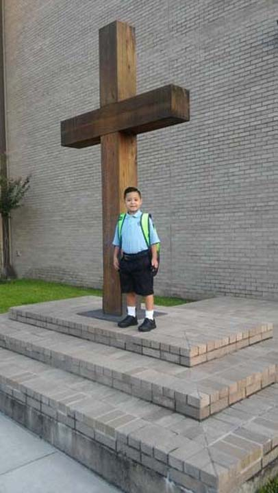 "<div class=""meta image-caption""><div class=""origin-logo origin-image none""><span>none</span></div><span class=""caption-text"">Fernando is excited about 2nd grade at Saint Francis de Sales Catholic School</span></div>"