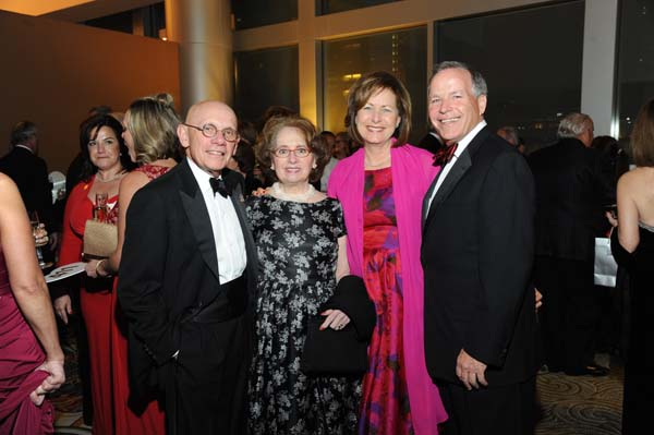 """<div class=""""meta image-caption""""><div class=""""origin-logo origin-image ktrk""""><span>KTRK</span></div><span class=""""caption-text"""">Jim and Beverly Postl with Debbie and Jack Moore at the American Heart Association's (AHA) Secret Garden themed Heart Ball.</span></div>"""
